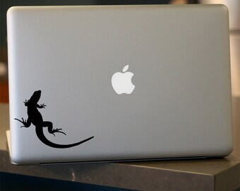 Lizard Decal -  Vinyl Sticker - For Car, Window, Laptop