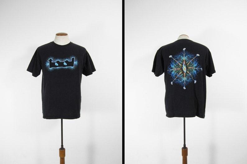 Tool Lateralus T-shirt Flaming Eye Tour Shirt Black Anvil image 0