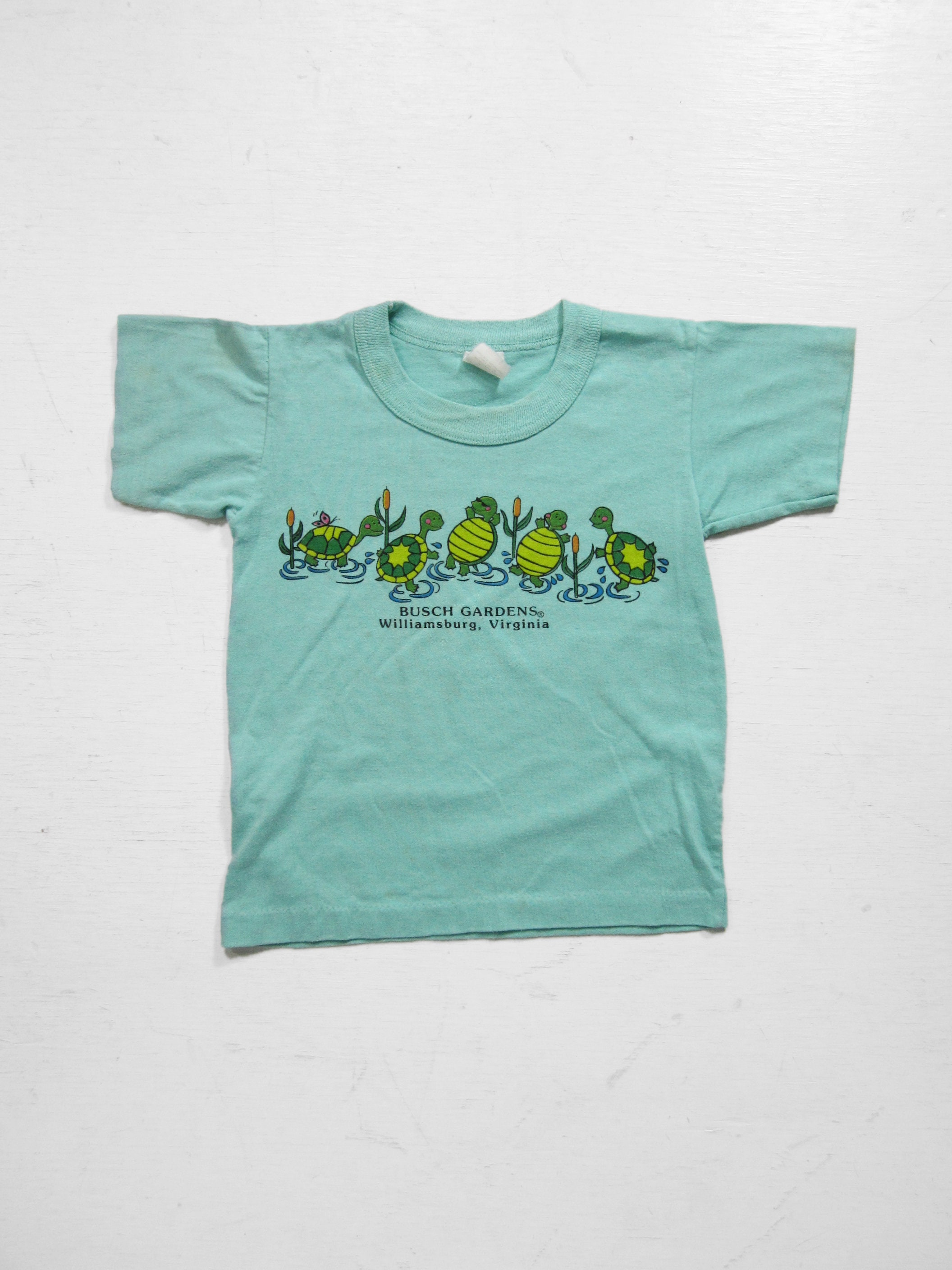80s Tops, Shirts, T-shirts, Blouse   90s T-shirts Vintage Busch Gardens T-Shirt Turtle Kids Tee - Small 6-8 $10.00 AT vintagedancer.com
