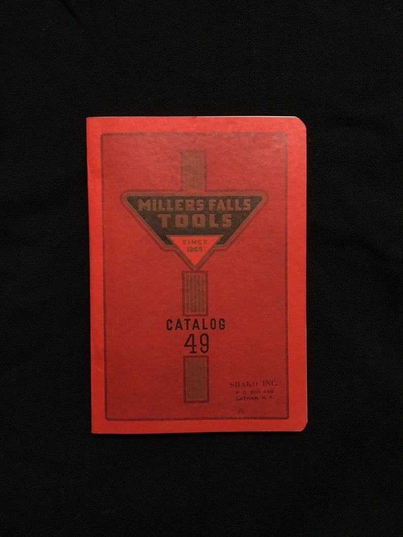 1949 Millers Falls Tools Catalog Woodworking Hand Tools Book image 0