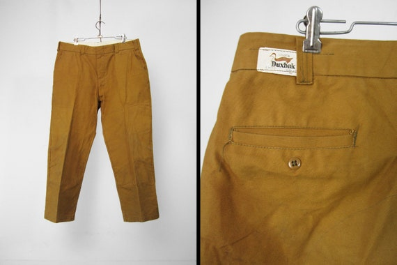 Vintage NOS Duxbak Work Pants Hunting Dungarees Co