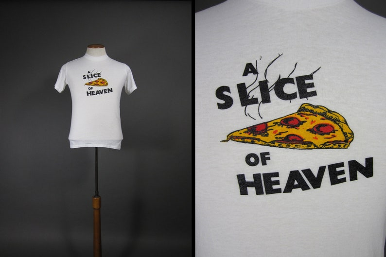 Vintage 80s Mystic Pizza T-shirt Soft and Thin Slice of Heaven image 0