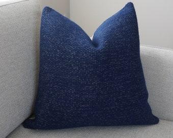 Royal Blue Pillow Sapphire Throw Pillow