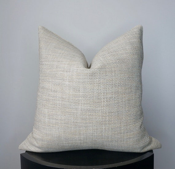 Pleasing Set Of 2 Gray Taupe Woven Pillow Dove Gray Textured Throw Pillow Gray Sofa Couch Pillow P Kaufmann 20X20 Square Pillow Cover Gmtry Best Dining Table And Chair Ideas Images Gmtryco
