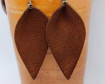 brown earrings *Brown Sugar*,\u221e brown ear studs \u221e\u00a0unique gift ideas by Crystals And Pearls IH