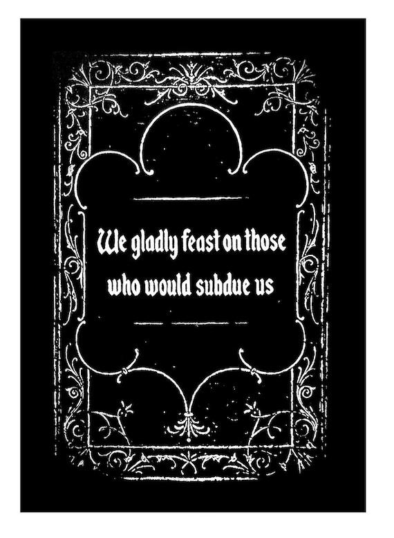 Addams Family Back Patch by Etsy