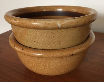 Two Dansk BLT Bronzestone Soup or Cereal Bowls