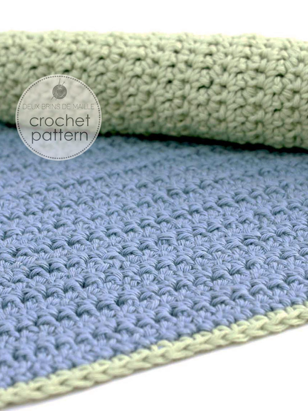 Crochet Pattern Facecloth. Crochet Pattern Dishcloth. Crochet ...