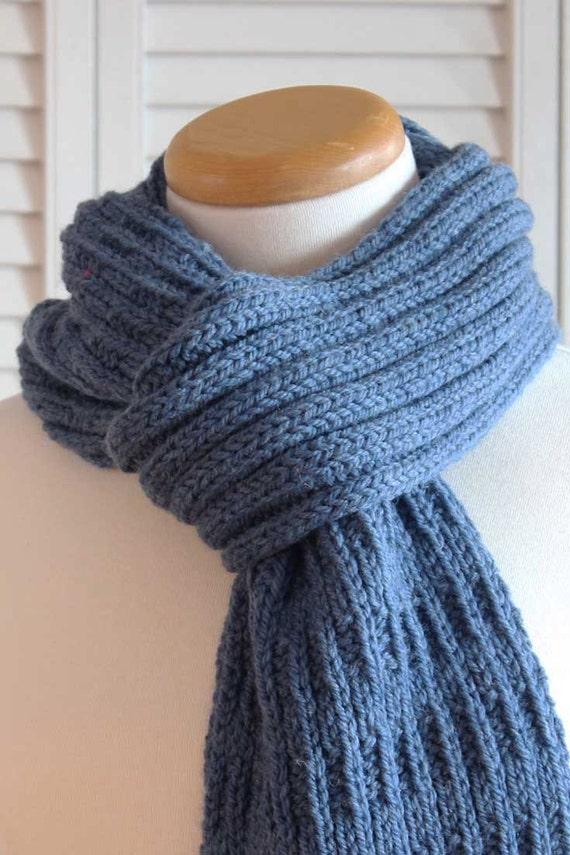 Knitting Pattern Scarf Knitting Pattern Knit Scarf Knit Etsy