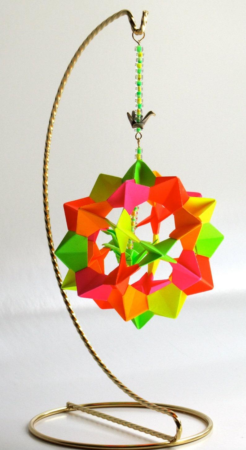 VALENTINE'S GIFT Ornament Home Décor Modular Origami image 0