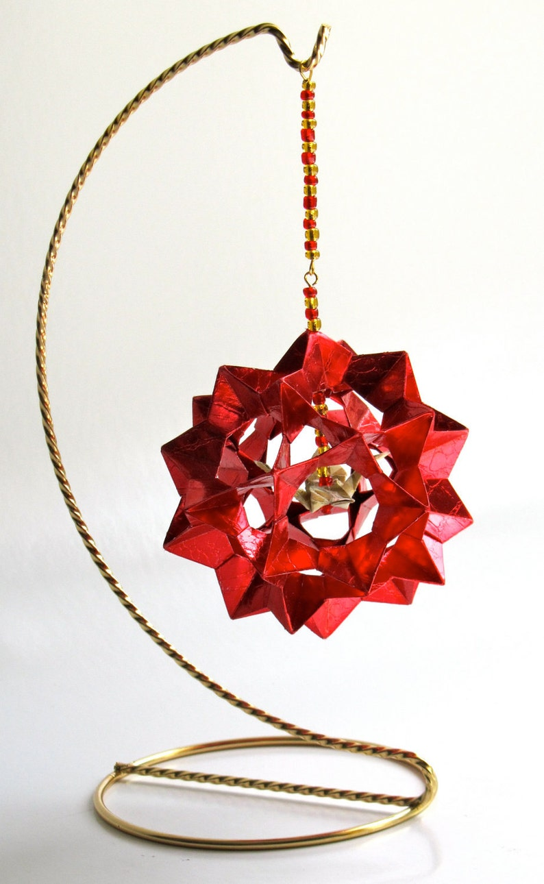 VALENTINE'S DAY Gift Home Décor Modular 3D Origami Star image 0