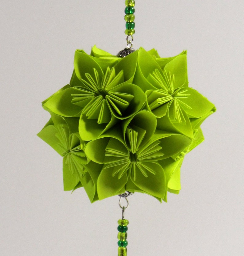 St Patrick ORIGAMI Ornament Holiday Decoration Home Décor image 0