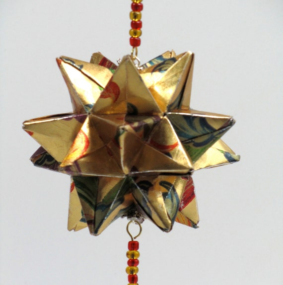 BIRTHDAY Day GIFt Star Ball 3D Modular Origami Ornament