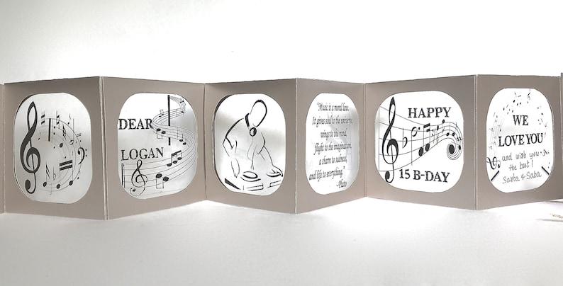 Happy B-Day for Music Lovers & D.J.s Original Handmade image 0
