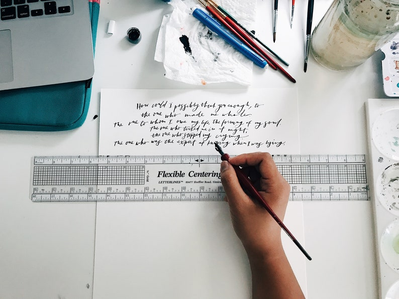 Long Passage Calligraphy // Long Quote Calligraphy // image 0