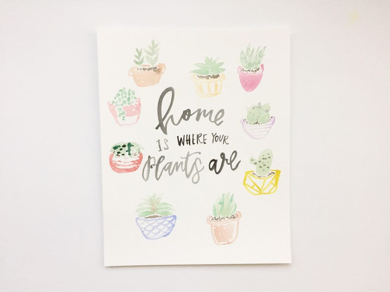 Home is Where Your Plants Are // Crazy Plant Lady // image 0
