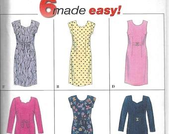 Simplicity   7431   Misses' / Miss Petite Dress    Uncut and Factory Folded