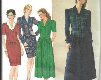 Simplicity   7319   Misses' / Miss Petite Dress   Uncut and Factory Folded