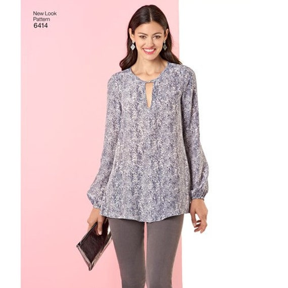 Top And Trousers New Look New Look Pattern 6566 Misses/' Tunic