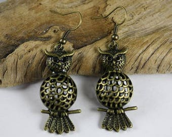 Owl Earrings - Item 1972