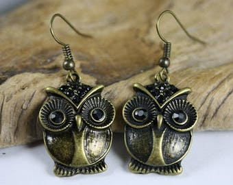Owl Earrings - Item 1970