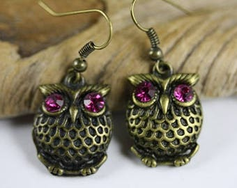Owl Earrings - Item 1971