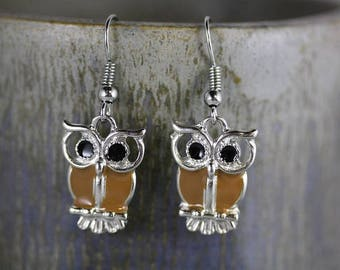 Owl Earrings - Item 1953