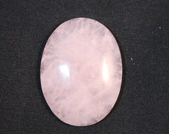 Rose Quartz Cabochon - 30 x 40 mm