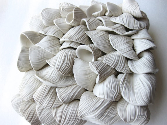 Oyster Mushroom Clay Tile