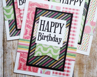 Birthday Card Making Kit EBook Makes 8 Complete Cards