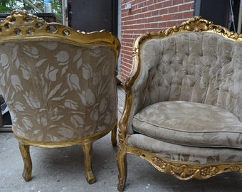 upholstered chairs etsy