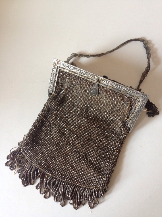 Art deco 1930's purse mesh