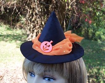 Mini Witchie Pumpkin Hat