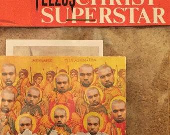 yeezus christ sticker pack  (free domestic shipping)