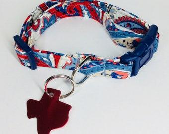 Paisley Multi Dog Collar - Adjustable