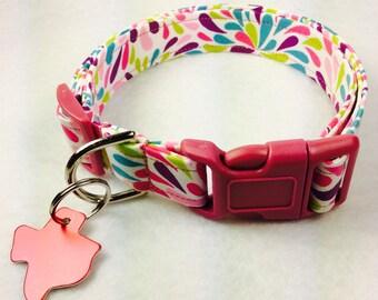 Petals Dog Collar - Adjustable