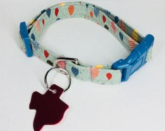 Teardrops Dog Collar - Adjustable