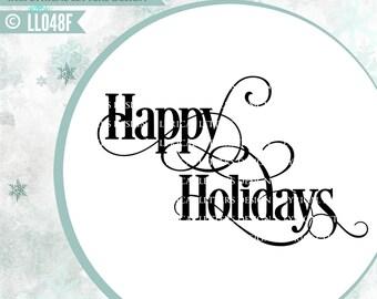 c3c4669922642 Happy holidays svg | Etsy