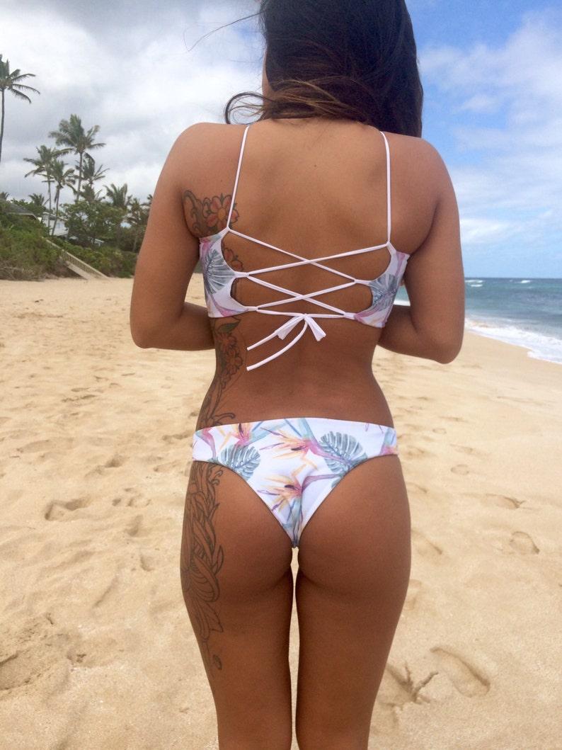 d47d20903 LANI KAI  REVERSIBLE Cheeky Brazilian Bikini Bottoms Create
