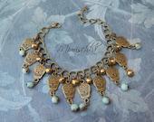 bracelet mexican sugar skull calaveras gypsy bohemia