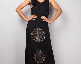 91b48b019a Tie Dye Tank top dress Sleeveless Festival dress Bleached