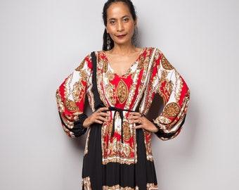 Long sleeve Boho Maxi dress 7b12e6f89