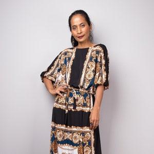 Elegant evening frock dress FU22P Long sleeve Boho Maxi dress Bohemian floor length dress