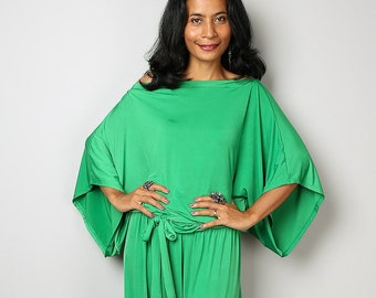 ed9cfed5d169 Green Jumpsuit - One piece Jumper Pants suit Dress   Chic   Casual  Collection No 1