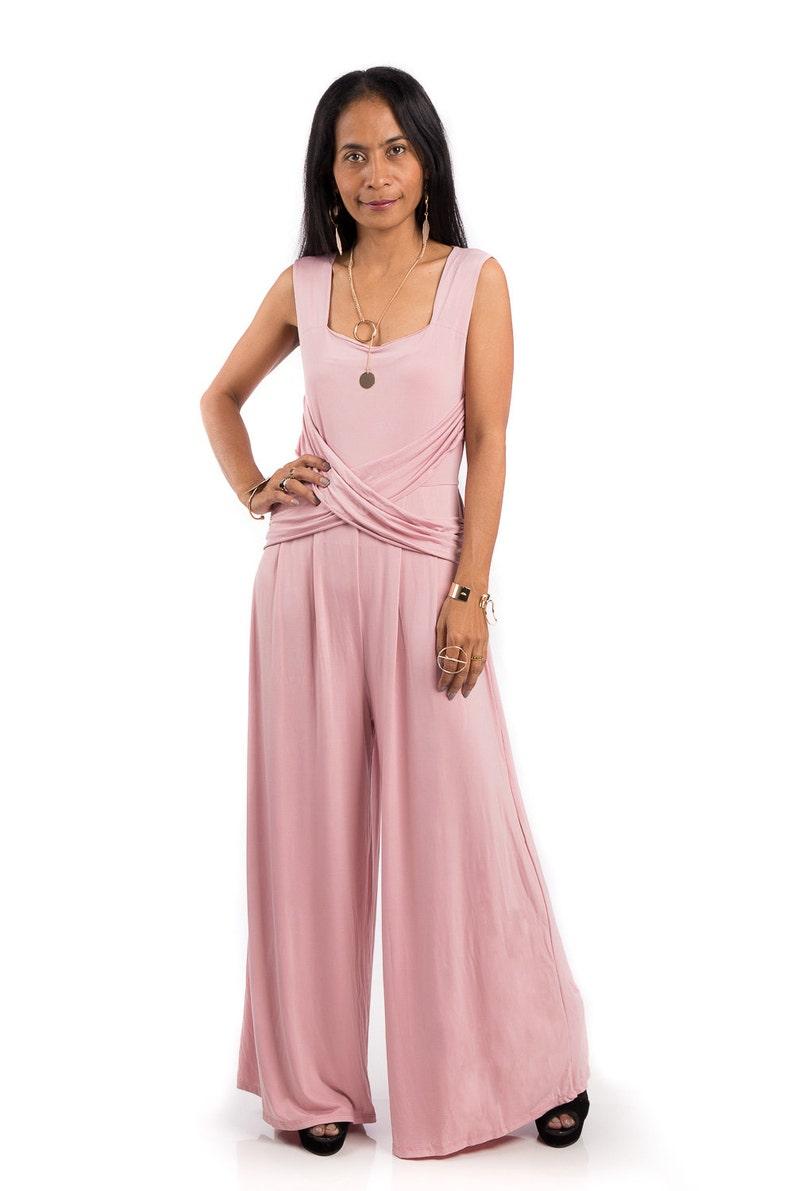 c0581f18cc7 Jumpsuit Dust pink jumper pink sleeveless jumper dress