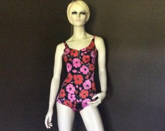 e7ed9dd67 Vintage 1980s Bathing Suit