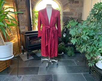 Vintage Boyfriends Robe Vintage Fifties Men/'s Robe Vintage 1950s Mens Light Brown Heavy Cotton Robe