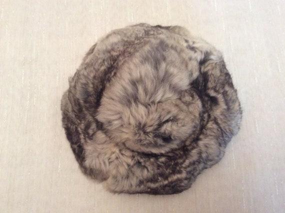 Vintage 1960s Soft Gray Fur Hat Betty & Rose Phil… - image 6