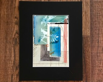 Mixed Media Art, Stitches In Art, Cyanotypes, Collage Art