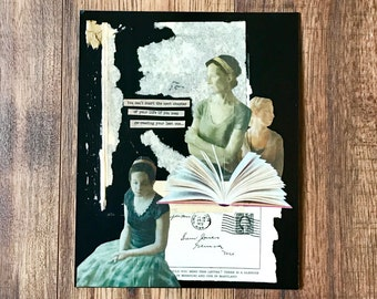 Chapters Of Life Collage Art, Life Book, Book, Mixed Media, Collage Art, Chapters, Women
